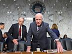 PHOTO: Senate Judiciary Committee Chairman Patrick Leahy, D-Vt., right, and the committees ranking Republican Sen. Chuck Grassley, R-Iowa, arrive on Capitol Hill in Washington, Wednesday, July 31, 2013.