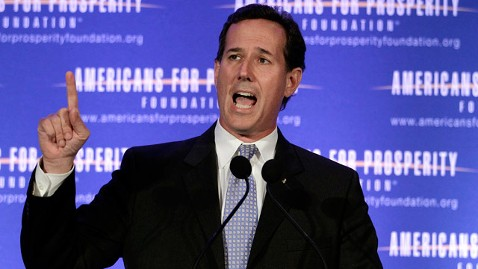 AP rick santorum jt 120324 wblog Rick Santorum Calls Unions Bullies