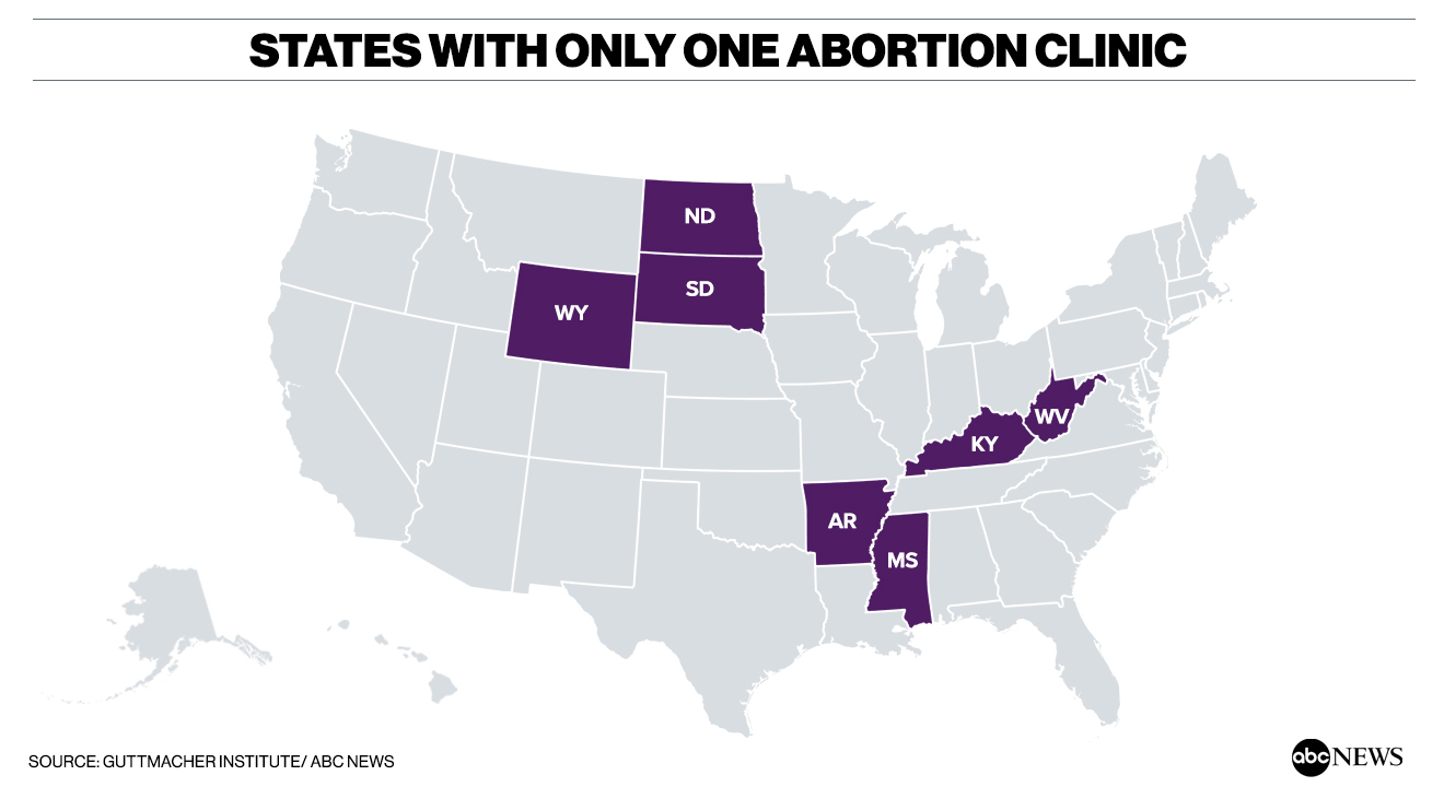 In growing number of states, women seeking abortions face the ...