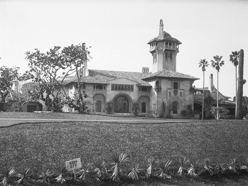 PHOTO: Marjorie Merriweather Post Huttons home in Palm Beach, Fla. is pictured here on Jan. 14, 1928.