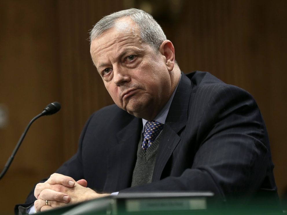 PHOTO: Retired Marine Corps Gen. John Allen, special presidential envoy for the global coalition to counter ISIL, testifies before the Senate Foreign Relations Committee on Feb. 25, 2015 in Washington.