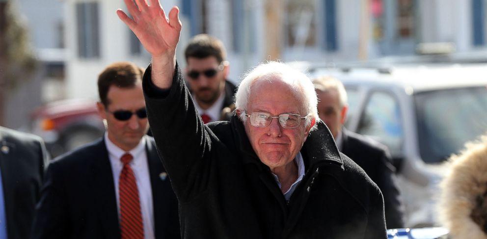 PHOTO: Democratic presidential candidate Sen. Bernie Sanders, Feb. 9, 2016 in Concord, N.H.