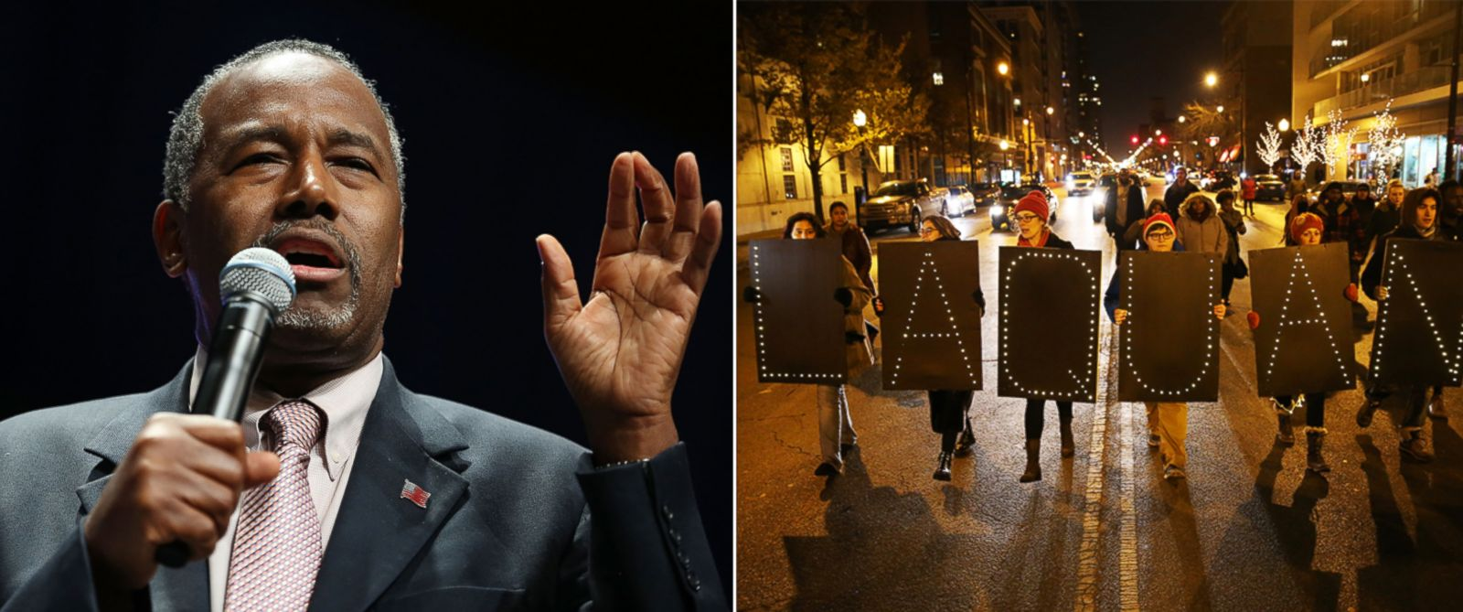 """PHOTO: Ben Carson speaks during the Sunshine Summit conference being held at the Rosen Shingle Creek on Nov. 13, 2015 in Orlando, Florida. 