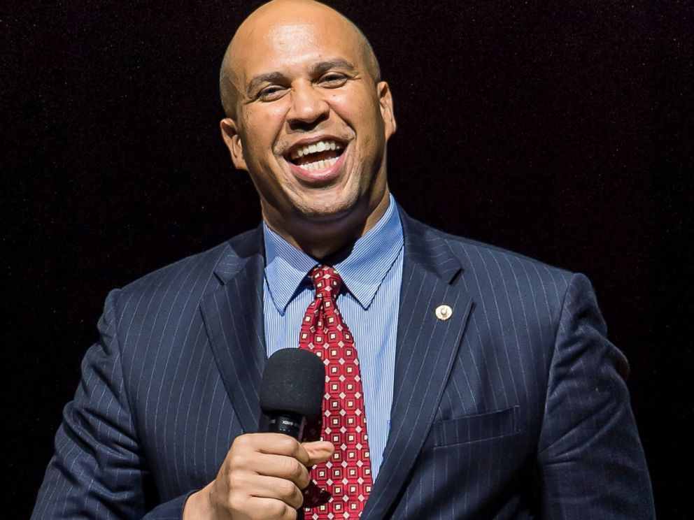 PHOTO: Cory Booker is pictured on Nov. 18, 2014 in Philadelphia.