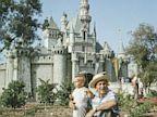PHOTO: walt disney, disney castle, disneyland