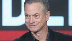 "PHOTO: Gary Sinise speaks onstage during the ""Criminal Minds: Beyond Borders"" panel discussion at the Langham Huntington Hotel, Jan. 12, 2016 in Pasadena, Calif."