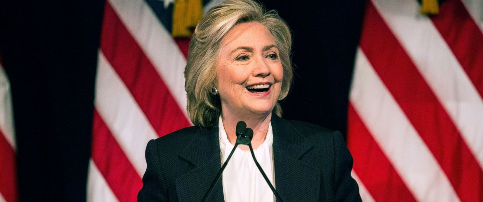 PHOTO: Democratic presidential candidate Hillary Clinton speaks at The New School, July 13, 2015, in New York.