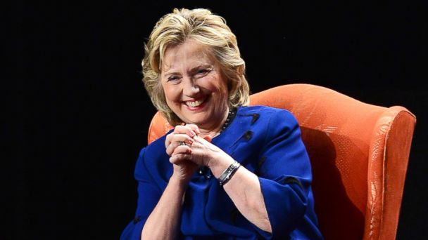 PHOTO: Former Secretary of State Hillary Rodham Clinton speaks at the University of Miami at Bank United Center, Feb. 26, 2014, in Miami.