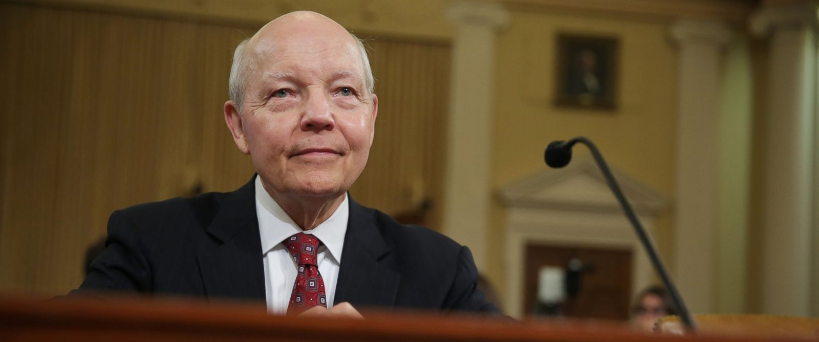 PHOTO: Internal Revenue Service (IRS) Commissioner John Koskinen testifies during a hearing before the House Ways and Means Committee June 20, 2014 on Capitol Hill in Washington, DC.