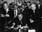 lyndon johnson, lbj, civil rights act, mlk, martin luther king jr