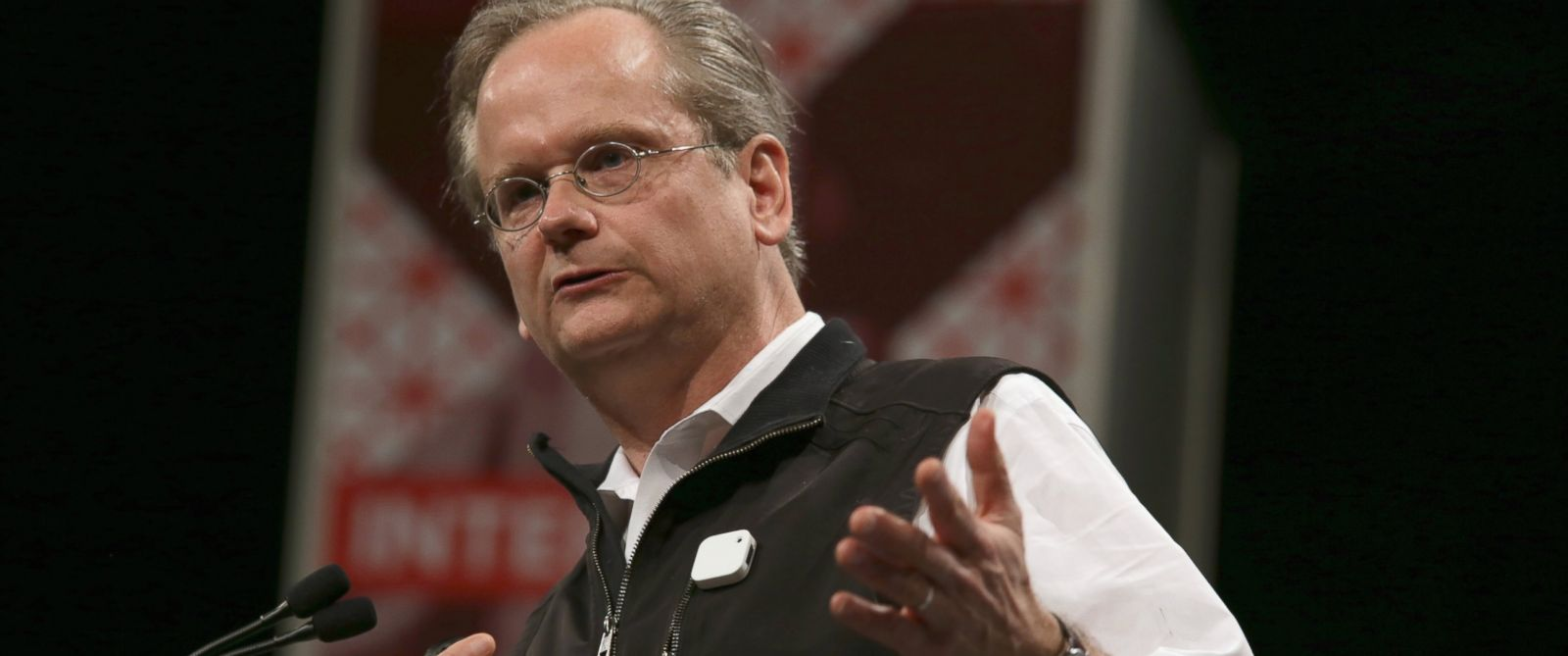 PHOTO: Lawrence Lessig, director of the Edmond J. Safra Center for Ethics at Harvard University, speaks onstage during the 2015 SXSW Music, Film + Interactive Festival, March 14, 2015 in Austin, Texas.