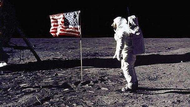 PHOTO: buzz aldrin, edwin aldrin, moon walk, lunar mission, apollo 11