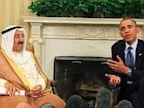 PHOTO: President Obama Meets With Kuwaiti Amir, Sheik Sabah al Ahmed al Sabah