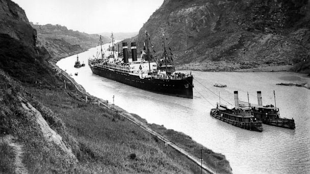 PHOTO: the Panama Canal.