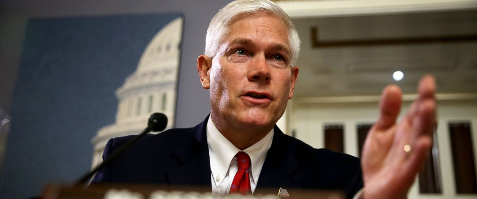 PHOTO: Committee chairman Rep. Pete Sessions speaks duirng a House Rules Committee meeting, Aug. 1, 2014, in Washington.