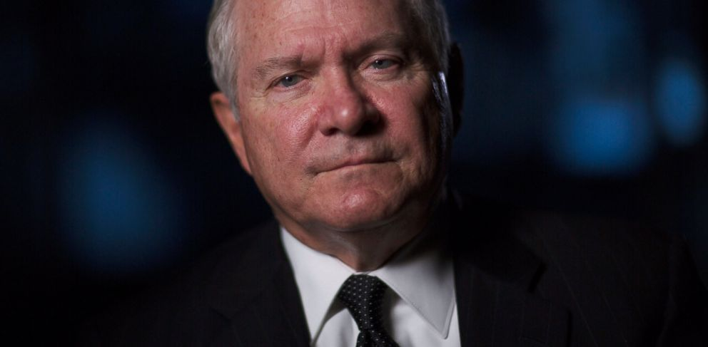 PHOTO: Former Director of Central Intelligence under President George H.W. Bush, Robert Gates is interviewed for The Spymasters, in Mt. Vernon, Washington, Dec. 15, 2014.