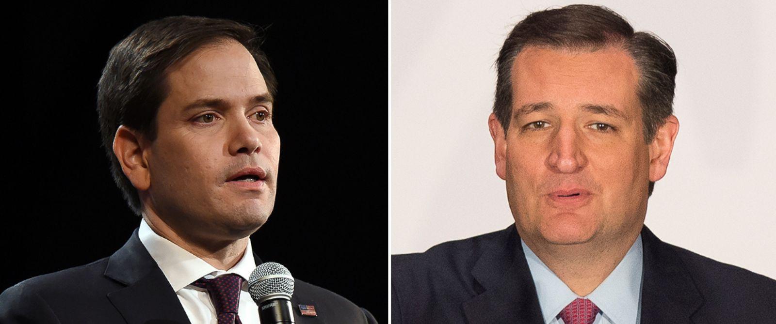 PHOTO: Sen. Marco Rubio and Sen. Ted Cruz.