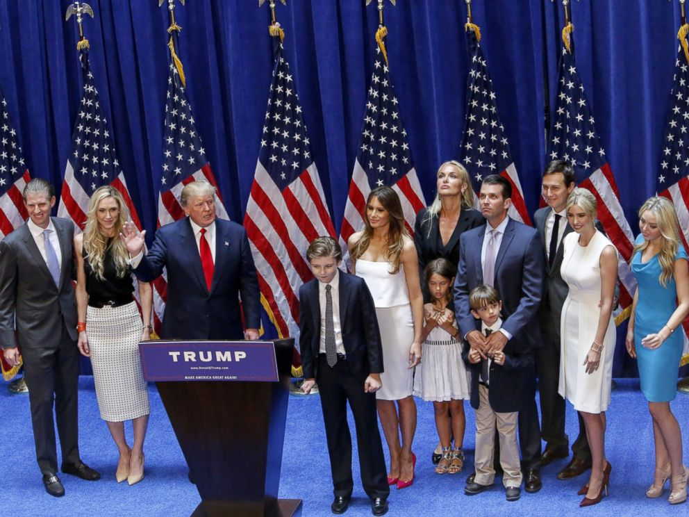 President Trump and family will be… – Citizens For Trump