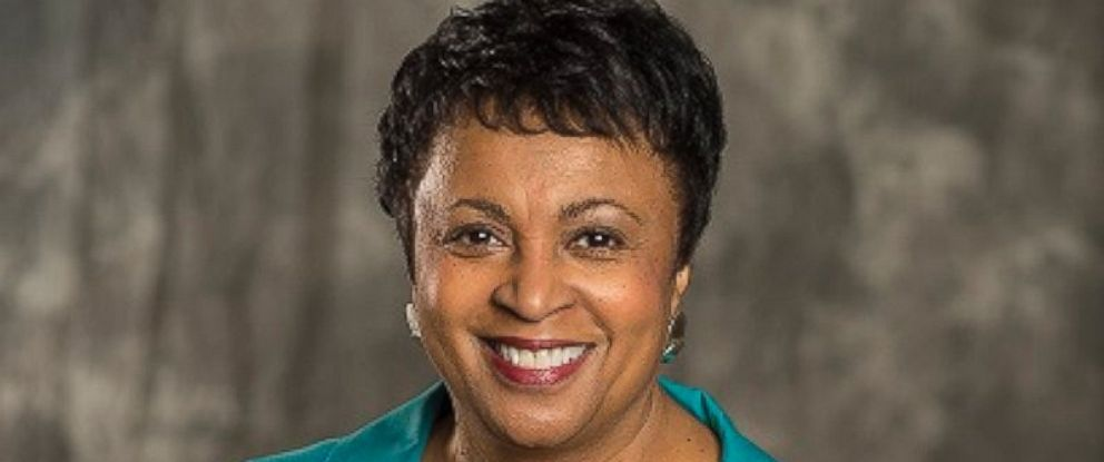 PHOTO: A portrait of Dr. Carla D. Hayden, CEO of the Enoch Pratt Free Library in Baltimore, Maryland.