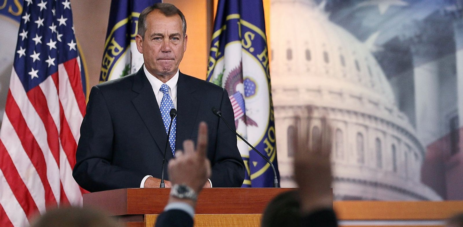 PHOTO: boehner, student loans, press conference
