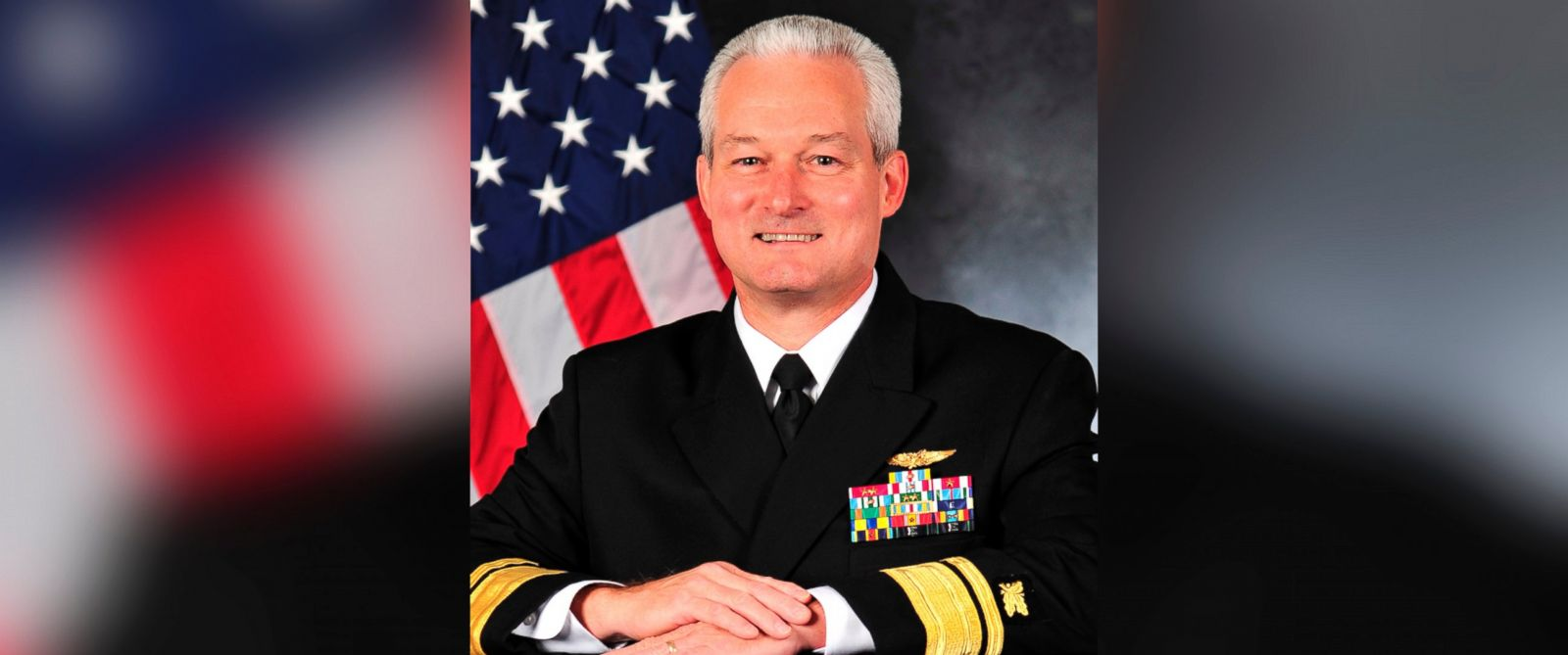 PHOTO: Rear Adm. David Baucom was found guilty of violations of conduct unbecoming an officer and gentleman and disorderly conduct/drunkenness under the Uniform Code of Military Justice, Dec. 7, 2015.
