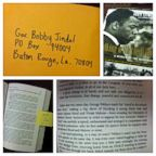 PHOTO: The Department of Justice mailed Louisiana Gov. Bobby Jindal a copy of a book about the civil rights movement