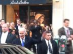 PHOTO: Melissa Romero tweeted, DAY MADE. Seeing Joe Biden walk out of Brooks Brothers on my way home. !!!! on Oct. 14, 2013.