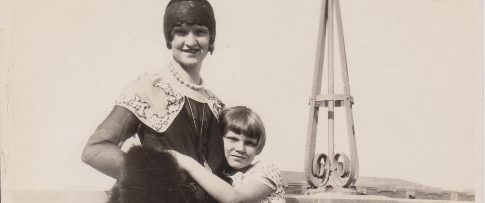 PHOTO:Nan Britton and her daughter Elizabeth Ann Britton are seen in this undated family photo.