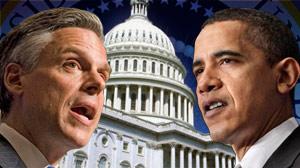 Huntsman, Obama, Capitol