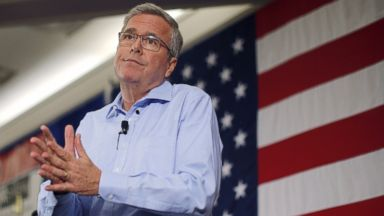 PHOTO: Former Florida Governor and probable 2016 Republican presidential candidate Jeb Bush speaks at the First in the Nation Republican Leadership Conference in Nashua, N.H., April 17, 2015.