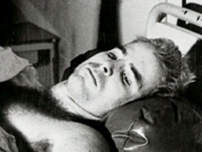 A picture of John McCain as a p.o.w.