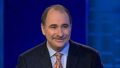 """PHOTO: David Axelrod on """"This Week with George Stephanopoulos"""""""