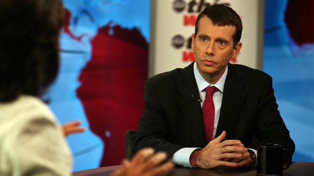 PHOTO: White House Senior Advisor David Plouffe
