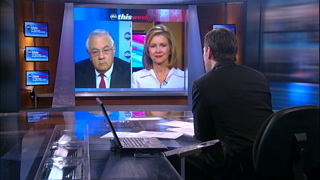 "PHOTO: Rep. Barney Frank (D-MA) and Rep. Marsha Blackburn (R-TN) on ""This Week"""