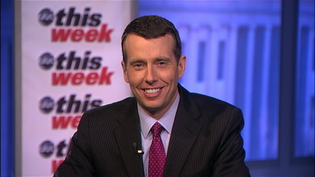 "PHOTO: White House adviser David Plouffe appears on ""This Week."""