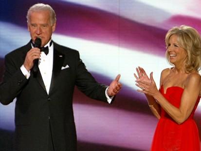 VIDEO: Joe Biden dances with Dr. Jill Biden at the inaugural ball.