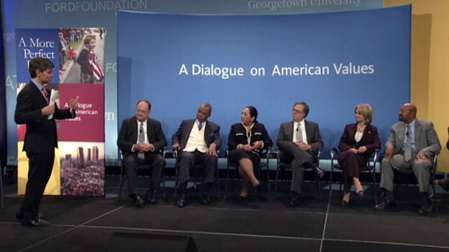 VIDEO: A discussion on how our values play into decisions about the budget.