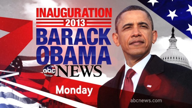 VIDEO: Tune in on Monday, January 21st, 2013 for ABC News coverage of the historical event.