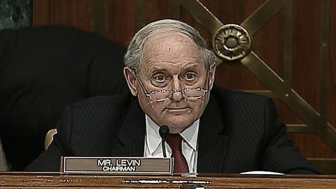 VIDEO: Sen Carl Levin curses while descriving an internal memo from Goldman Sachs.