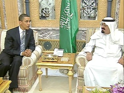 VIDEO: President Obama speaks with King Abdullah.