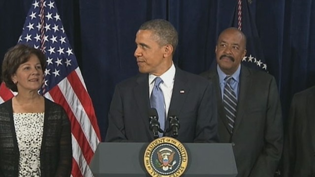 VIDEO: President jokes about a particularly important aspect of his healthcare announcement that is missing