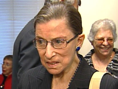 VIDEO: The Supreme Court reconvenes with Justice Ginsburg back on the bench.