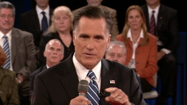 Highlights from Obama and Romneys town hall debate, moderated by Candy Crowley.