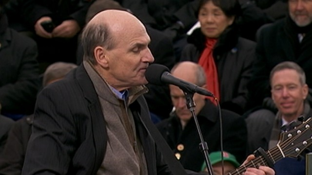 VIDEO: James Taylor Performs