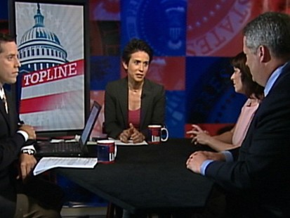 """Video: Dueling pollsters on """"Top Line."""""""