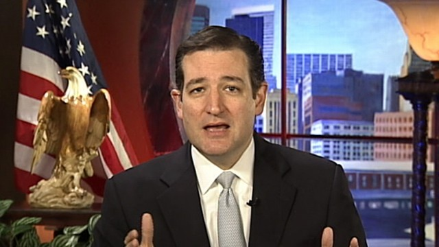 VIDEO: Senate Candidate Ted Cruz on ABCs Top Line
