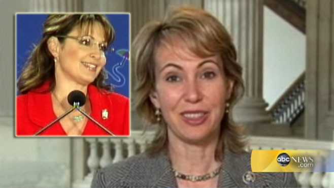 VIDEO: SarahPac election ad had gun sights that targeted Rep. Giffords district.