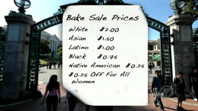 PHOTO: Berkeley College Bakesale Incites Debate Over Racism