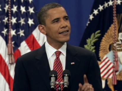 Video of President Obama announcing the deployment of 30,000 troops to Afghanistan.