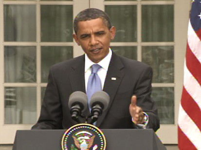 Video of Barack Obama talking about Iranian elections.